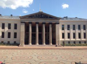 University Building, Oslo, Norway, Universidad de Noruega,