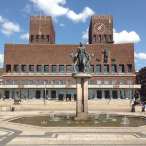 Oslo, City Hall, Norway, Noruega