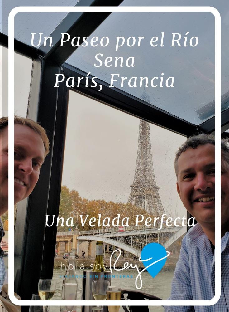 Un paseo por el río Sena en París, Francia