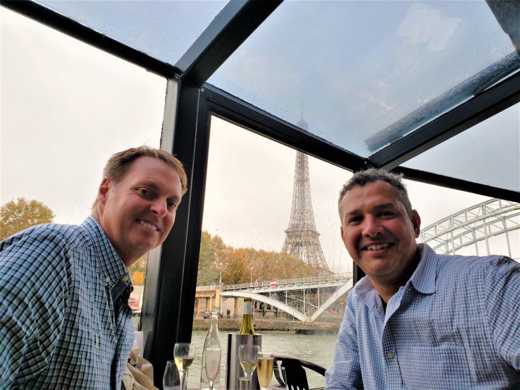 Un paseo por el río Sena a bordo del Le Grand Pavois Paris City Vision
