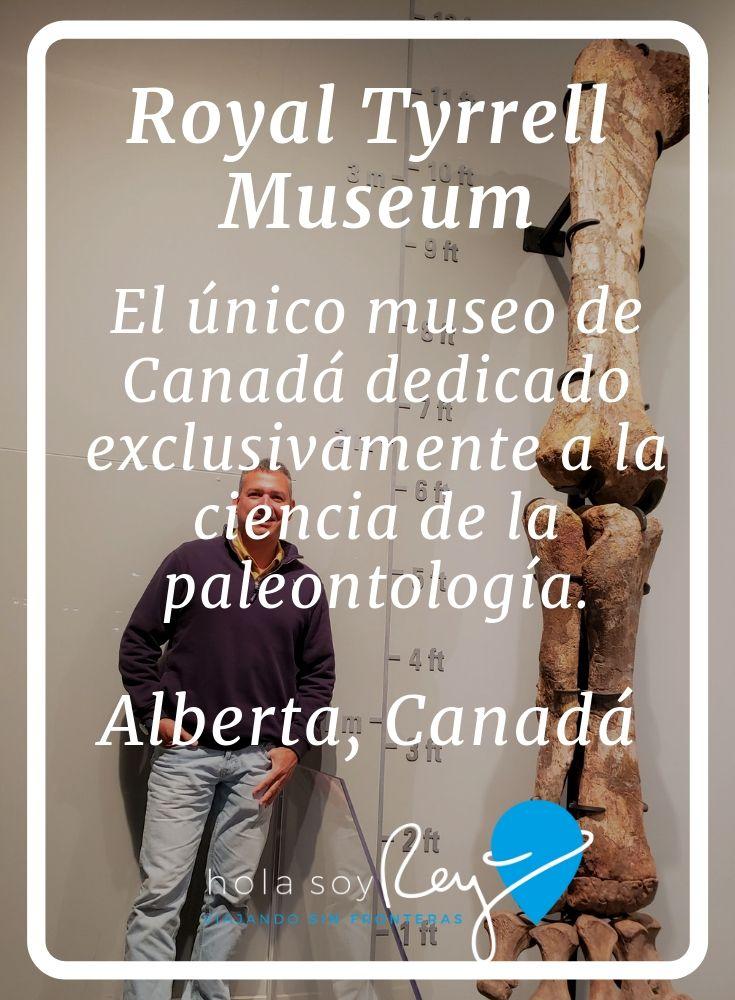 Museo Real Tyrrell portada del blog