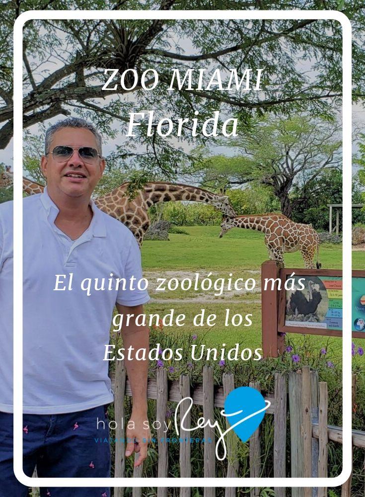 El Zoológico de Miami una atracción que no te puedes perder si estas de visita en Miami o vives en el sur de la Florida. Es el quinto zoológico más grande de los Estados Unidos.