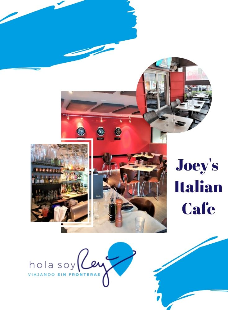 Joey's italian cafe Wynwood MIami