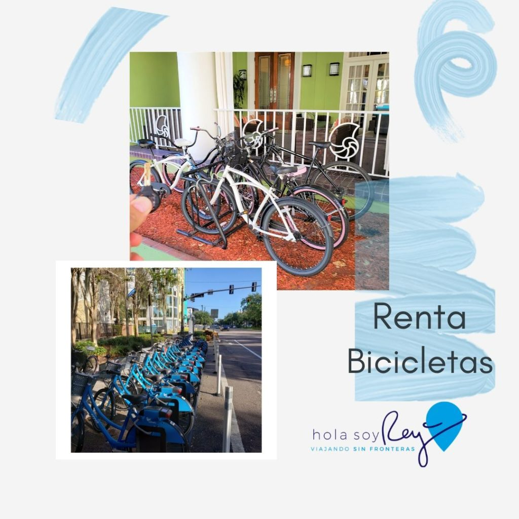 Renta de Bicicletas en San Petersburgo Florida