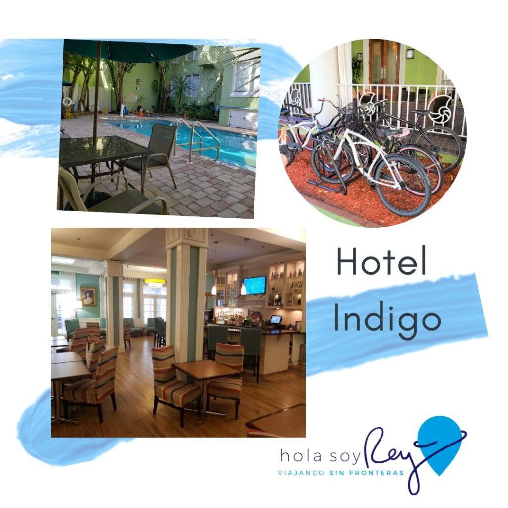 Amenities del hotel Indigo