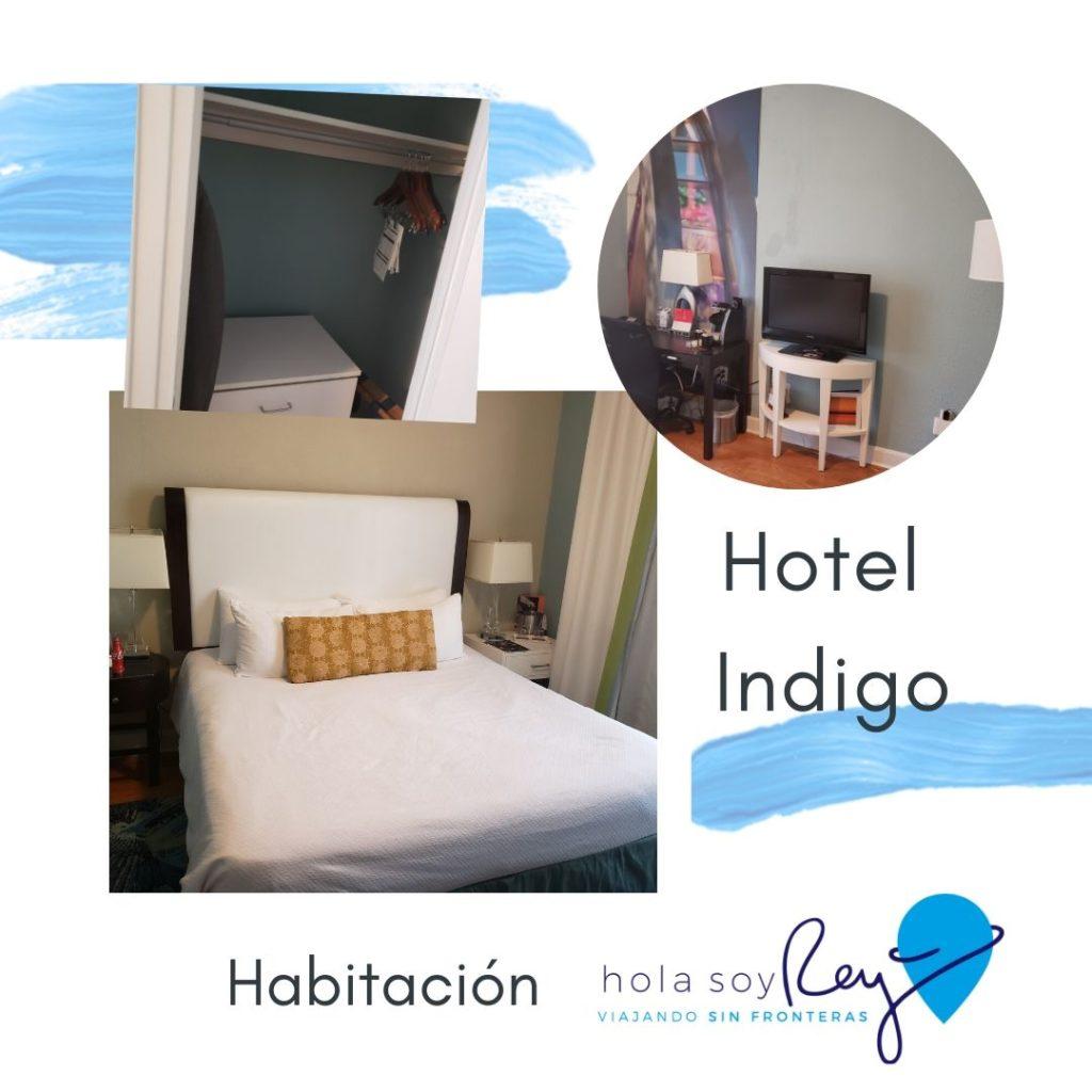 Habitación del hotel Indigo en San Petersburgo, Florida