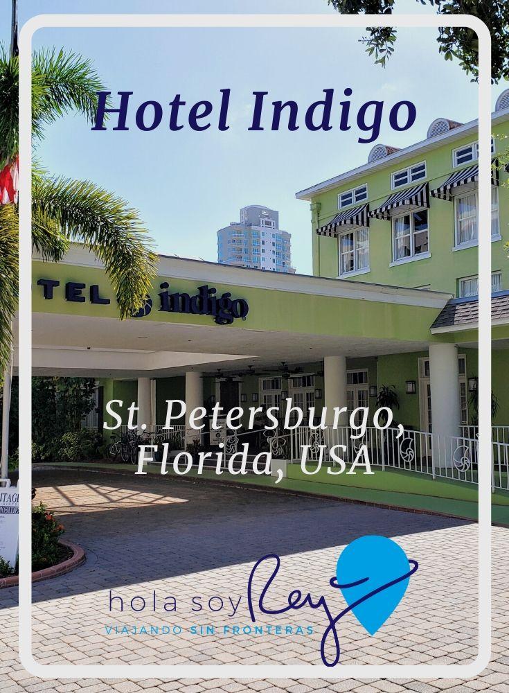 Fachada del hotel Indigo en San Petersburgo, Florida