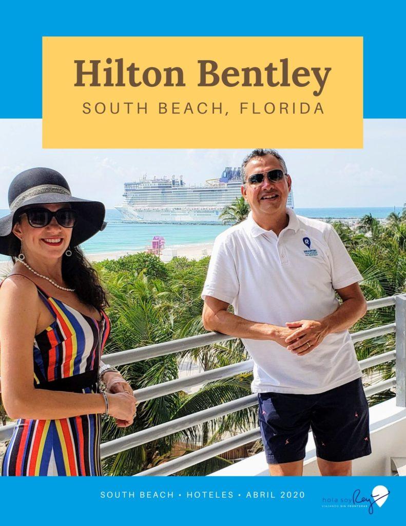 Hola soy Rey en el Hilton Bentley en South Beach Florida