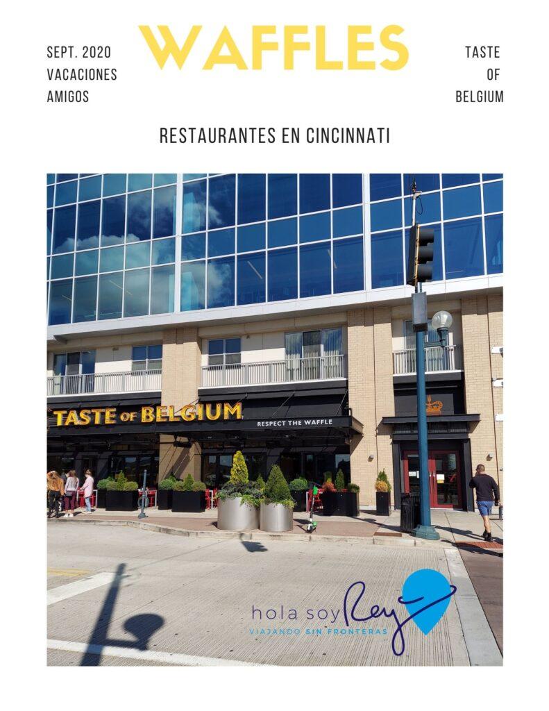 Taste of Belgium un restaurante que tienes que conocer en Cincinnati