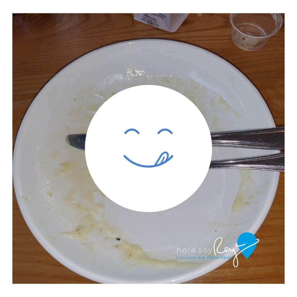 Después de una rica comida